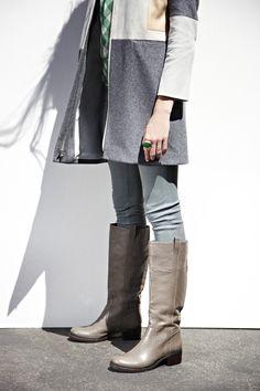 Comfy fall boots.