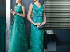 Zielone sukienki na wesele z kolekcji Rosa Clara 2014
