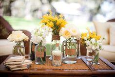 Simple flower jars