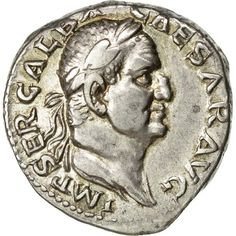 Unfortunately, this collectible item is no longer available ! ➽ Ask us to find it for you : Coin Galba Denarius Rome Silver Creepy Pictures, Old Money, Antiquities, Art Design, Roman Empire, Seals, Rome, Coins, Silver