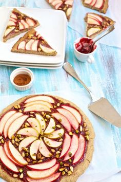 Nutty Apple Tarts – Gluten Free & Vegan