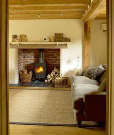 Albright cottage living room