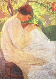 Giovanni Sottocornola, Luce e lavoro, 1914