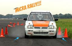 My Micra Rally at the Nissan Experience