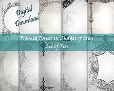 Writing Paper, Printable Paper, Your Image, Printables, Lettering, Digital, Frame, Printer, Fox