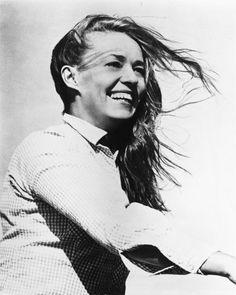 Jeanne Moreau, actrice, chanteuse et réalisatrice française.