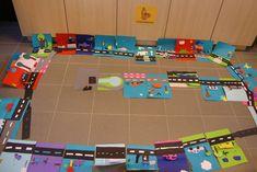 4de leerjaar, thema verkeer - dekleinewijzer Crafts For Kids, Arts And Crafts, First Grade Science, School Themes, Teaching Kindergarten, Preschool Activities, Art Lessons, Art Projects, Transportation