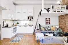 32m2 y una distribución. | Decorar tu casa es facilisimo.com