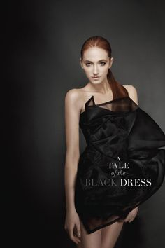 A Tale of the Black Dress. #model #fashion #blackdress #event