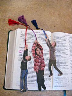 Photo Bookmarks (Family Fun Magazine, November 2011)