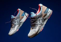 The ASICS GEL-Lyte V heads to the great outdoors this winter for this unique new colorway inspired by the colors of classic outdoor apparel and footwear. The excellent execution for the popular retro runner features a clean blend of grey … Continue reading →