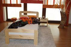 ŁÓŻKO drewniane sosnowe KLARA 90X200 od PRODUCENTA! DREWNIANE MAXI-DREW producent mebli z litego drewna :: łóżka sosnowe :: stoły :: materace :: szafy :: komody Komodo, Toddler Bed, Furniture, Home Decor, Child Bed, Decoration Home, Room Decor, Home Furnishings, Arredamento