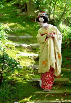 Maiko Katsuna, Kyoto, Japan