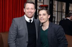 Nominee Michael Arden and Andy Mientus