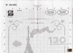 Princess Castle growth chart 2 of 9 Disney Cross Stitch Patterns, Cross Stitch Charts, Cross Stitch Designs, Cross Stitching, Cross Stitch Embroidery, Cross My Fingers, Stitch Cartoon, Alphabet And Numbers, Disney Crafts