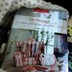 My cartonnage book, published in France, 2013