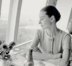 "blockmagazine: """"Audrey Hepburn during a visit to the Expo 58 exhibition in Brussels, 1958. "" """