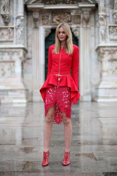 head-to-toe red