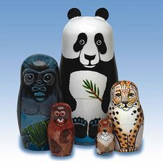 Any set of nesting dolls is a must...these are super original