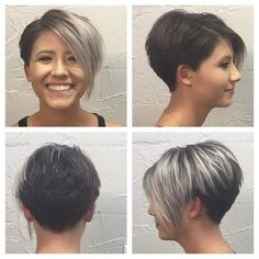 ( like the left picture for both sides) asymmetrical Pixie