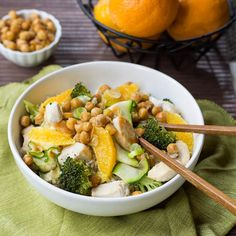 Recipe: Orange Chicken Stir-Fry with Spicy Chickpeas #advocare
