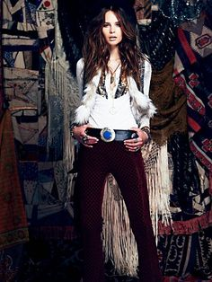 September 12 Lookbook Outfit 3 - SO COOL! It's kinda Steven Tyler but I love it!