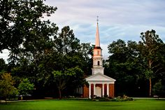 Gorgeous Photo of Martha Mary Chapel in Greenfield Village!