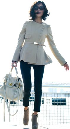 Street style for fall chic.....