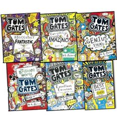 Download free Liz Pichon Tom Gates 6 Books Collection Set Pack RRP 35.95 (Genius Ideas Everything Amazing Excellent Excuses The Brilliant World of Tom Gates Tom Gates is Absolutley Fantastic Best Book Day Ever) pdf