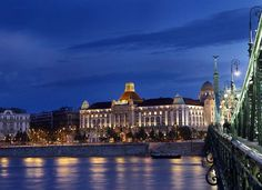 On the banks of the Danube in Budapest, the Hotel Gellért dazzles with its extraordinary display of ... - danubiushotels.com