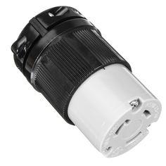 125V 30A NEMA L5-30C Locking Connector Plug And Connector Set