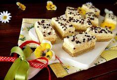 Túrós tejfölös kekszsüti Ital Food, European Dishes, Izu, No Bake Treats, Waffles, French Toast, Cheesecake, Food And Drink, Baking