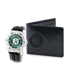 Oakland Athletics MLB Men's Watch & Wallet Set