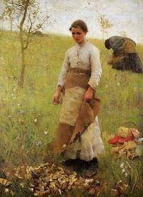 It's About Time: Women Working Outdooirs - George Clausen 1852-1944