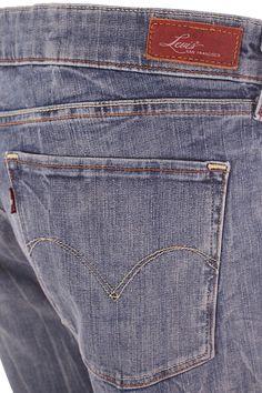 a8f811c3a5 Pantalón Hombre – Levis en Color Azul Claro de Segunda Mano