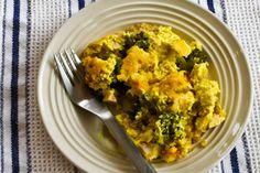 Boccoli Quinoa Casserole with Curry Sauce- Gfree