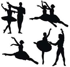 silhouettes to use in/around my Nutcracker tree