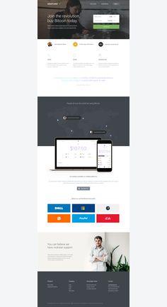 Snapcard design landingpage