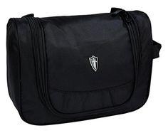 Victoriatourist Easy-go Hanging Toiletry Bag Travel Carry Case Basic Kit, Black Best Travel Accessories, Amazon Associates, Travel Kits, Eyebrow Makeup, Toiletry Bag, Ukulele, Macbook, Laptop, Lipstick