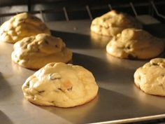 The Perfect (Fluffy, Soft and Chewy) Chocolate Chip Cookie Recipe ****** I made these this weekend and they're not only delicious, but they stay puffy even after cooling! The secret: instant vanilla pudding mix and an hour of chill time for the dough before baking. For perfect shape, roll dough before baking instead of scooping. -Brianna