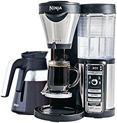Christmas deals week Ninja Coffee Bar Auto-iQ Brewer Machine with Glass Carafe (Certified Refurbished)