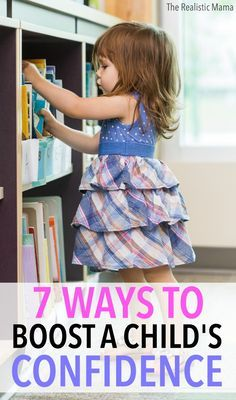7 WAYS TO BOOST A CHILD'S CONFIDENCE. #1 is a fun project I love doing with kids year after year and saving away in a special place to watch how they've grown. #sp