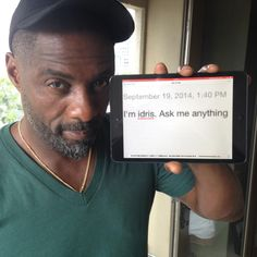 Idris Elba Did an AMA, and Now We're in Love