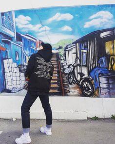 "Korean Street Fashion - Drug Without Side Effect ""Requiem Hoodie"" (Instagram - woohwangood)"