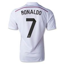 Real Madrid 14-15 Home Soccer Jersey 2015 Best Quality Ronaldo Bale Alonso Real  Madrid b9c90fdfeef1e