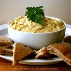 A Little Bit Crunchy A Little Bit Rock and Roll: Easy Traditional Hummus