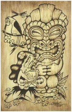 """""""Tiki"""" by Shawn Dickinson"""