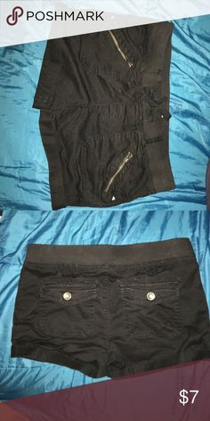 Jaw-string shorts Super comfy jaw-string shorts . In great condition , never been worn ! Will fit an adult . Can't even tell they're from justice , super comfy justice Shorts