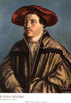 Gallery For > Hans Holbein Self Portrait - 496x720 - jpeg