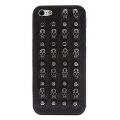 Bullet studs and skull studs iPhone case.